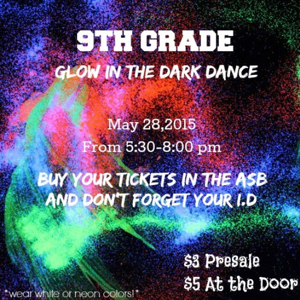 Glow in the Dark Dance